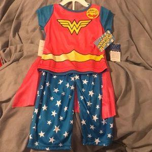 Other - NWT Wonder Woman PJ's 2T